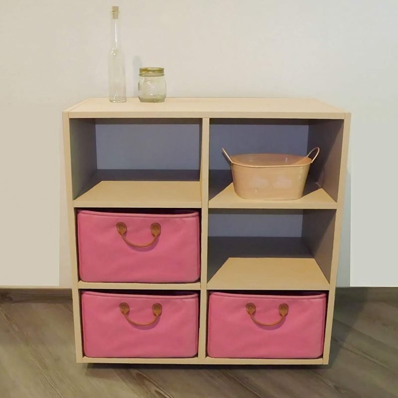 6 compartment drawer unit