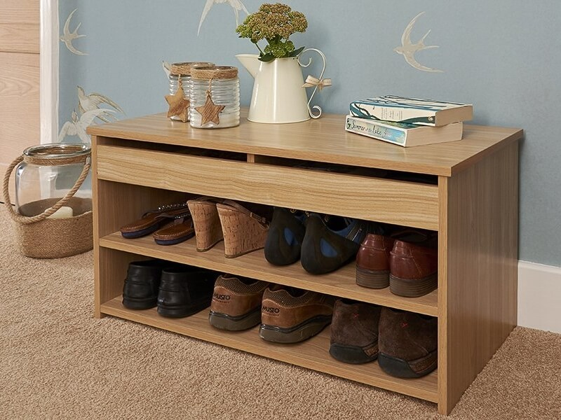 Budget shoe storage bench
