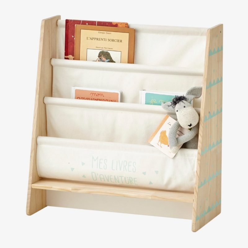4-tier sling bookcase