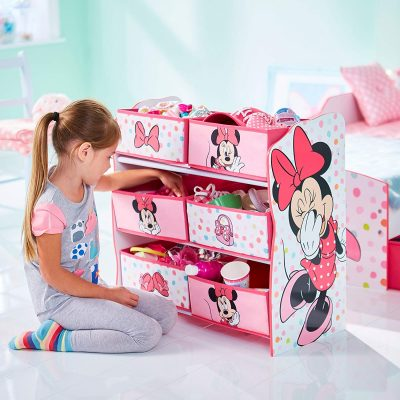 Disney Mini Mouse Storage Bin Set