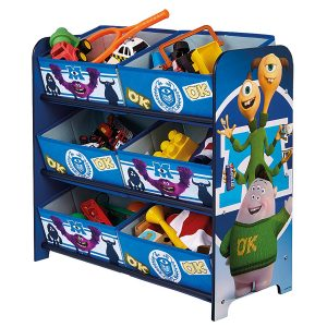 Monsters theme storage unit