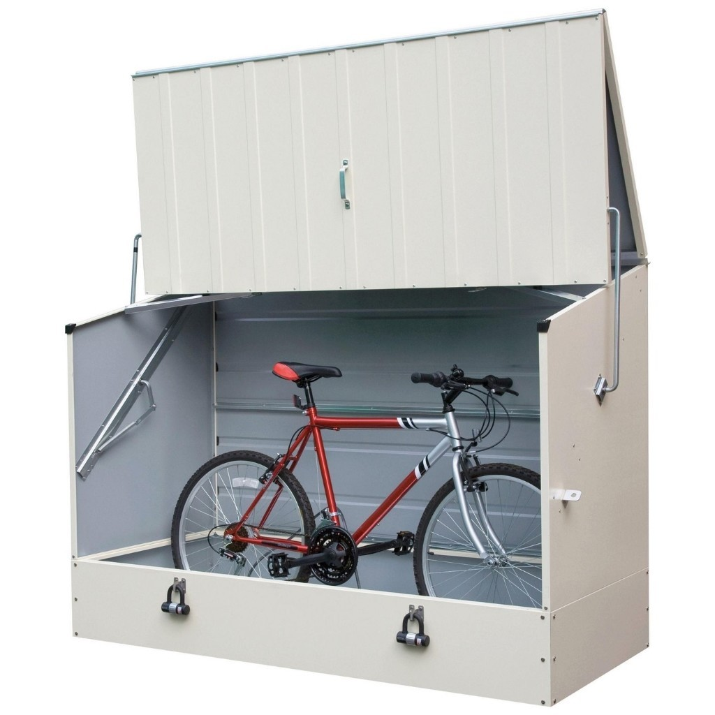 Bicycle storage cabinet