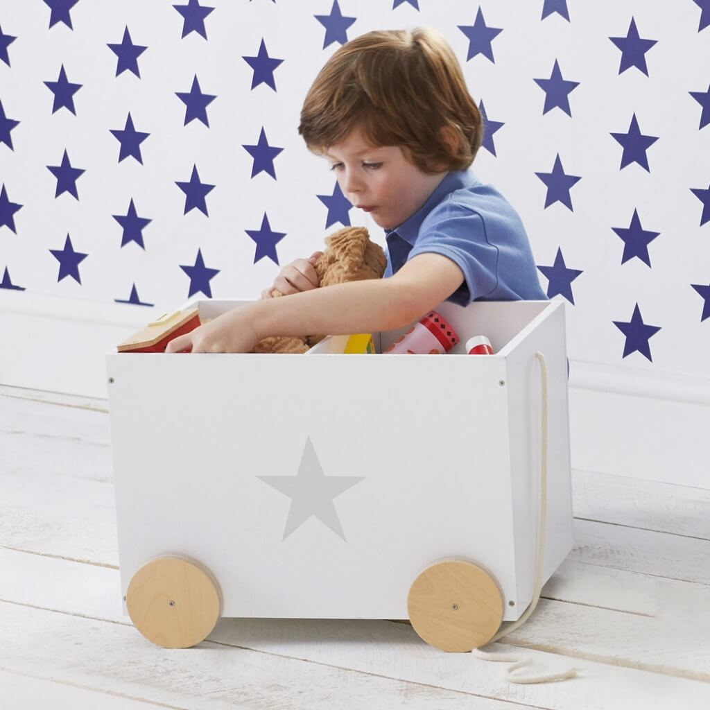 Mobile toy chest