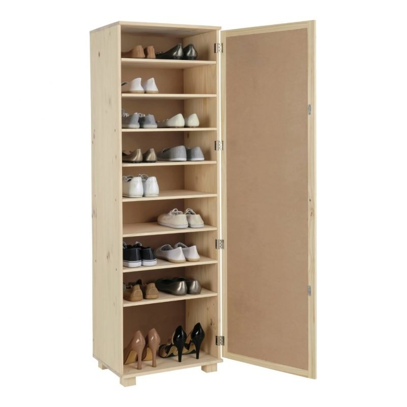 Tall shoe cabinet