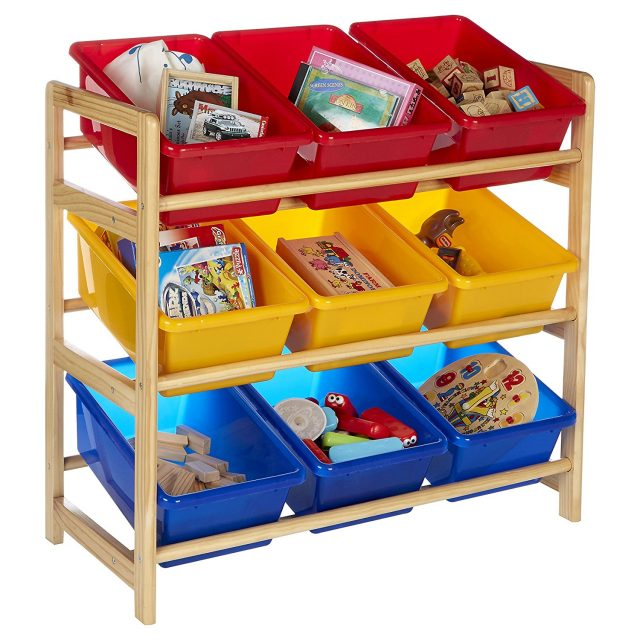 Kid's 3 Tier Units with Storage Bins