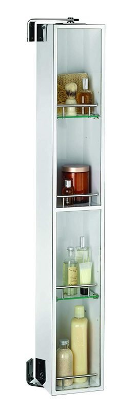 Rotating bathroom cabinet