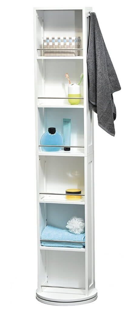 Revolving Bathroom Cabinet