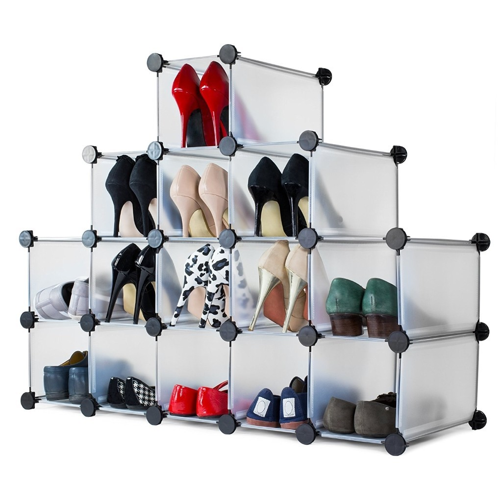 Interlocking shoes organiser