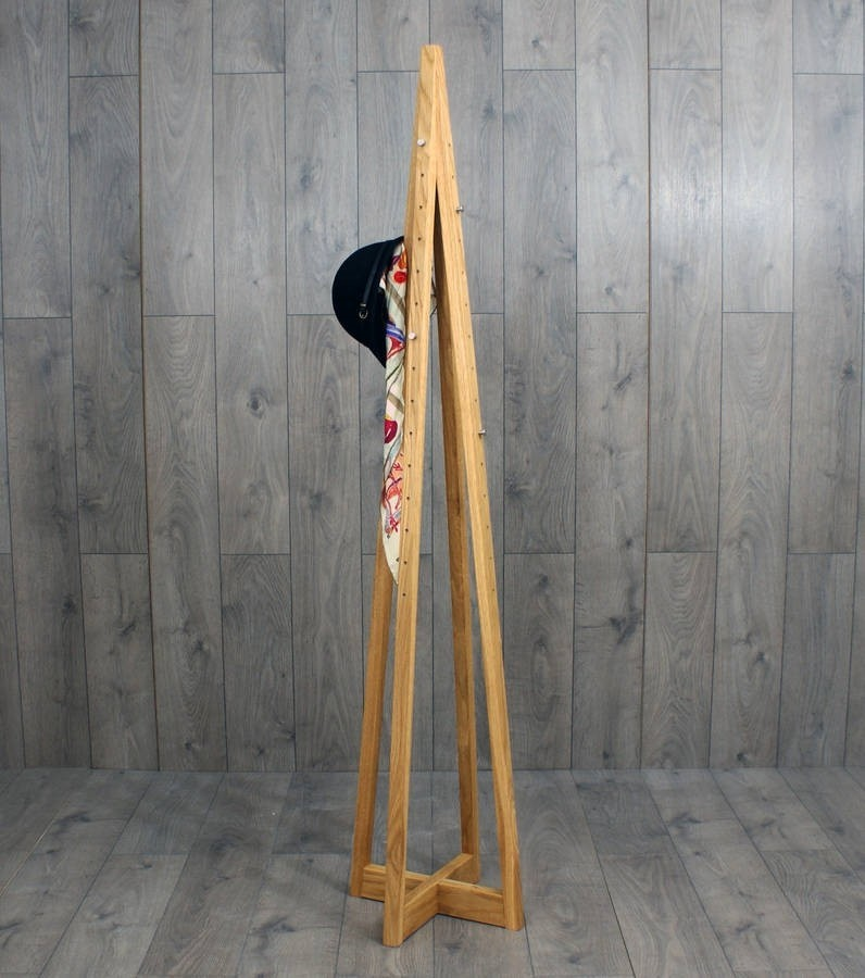 Solid Oak Avenir Coat Stand