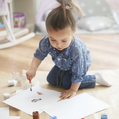 Smart ways to let your kids get creative while avoiding clutter