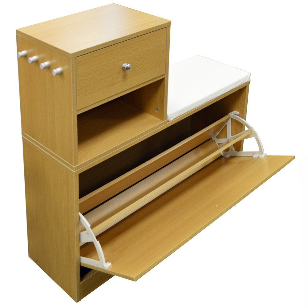 Telephone tables with storage storage ideas Shoe cabinet bench