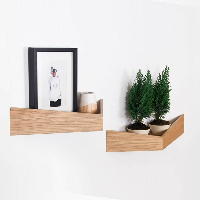 3 dimensional wall shelves