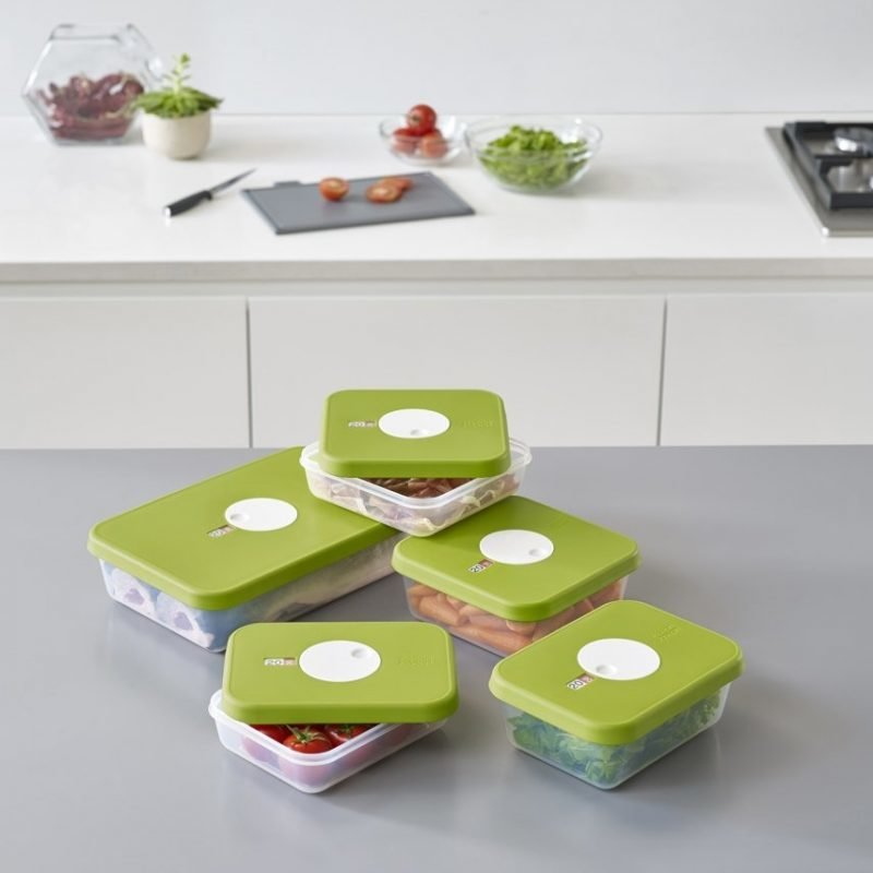 Dial food containers set of 5