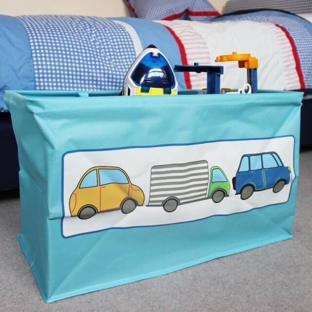 Folding Toy Storage Bags with Handles