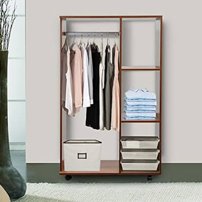 Mobile Open Wardrobes