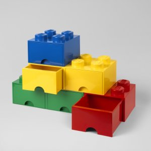 Lego Bricks with Storage Drawers
