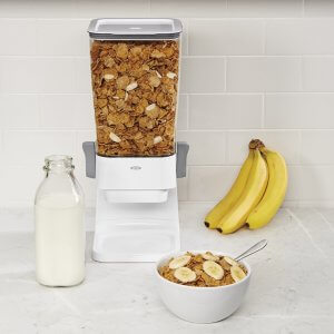 Counter top cereal dispenser