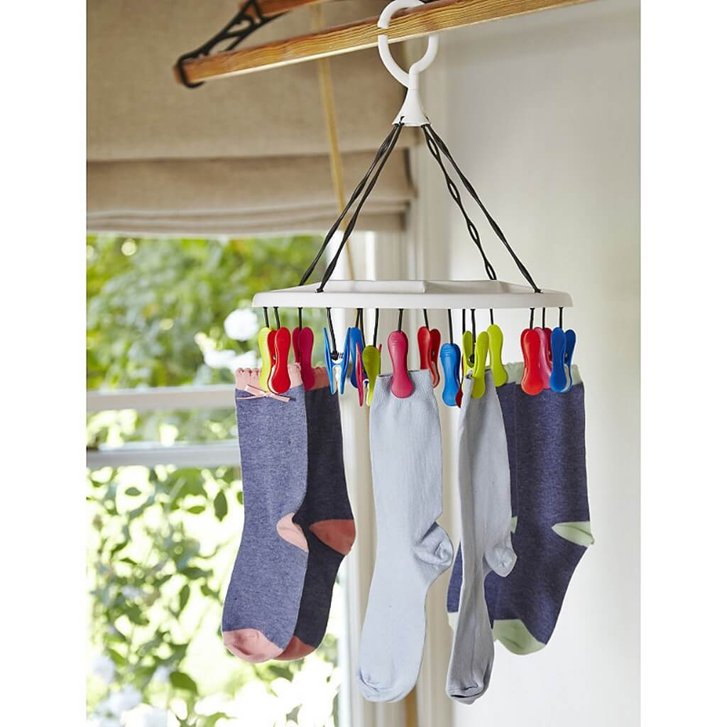 16 peg hanger for underwear