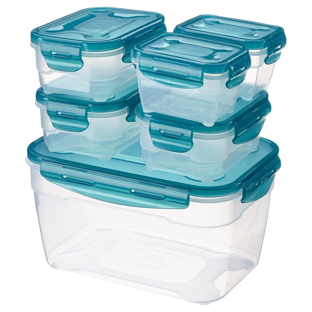 Set of 6 food containers