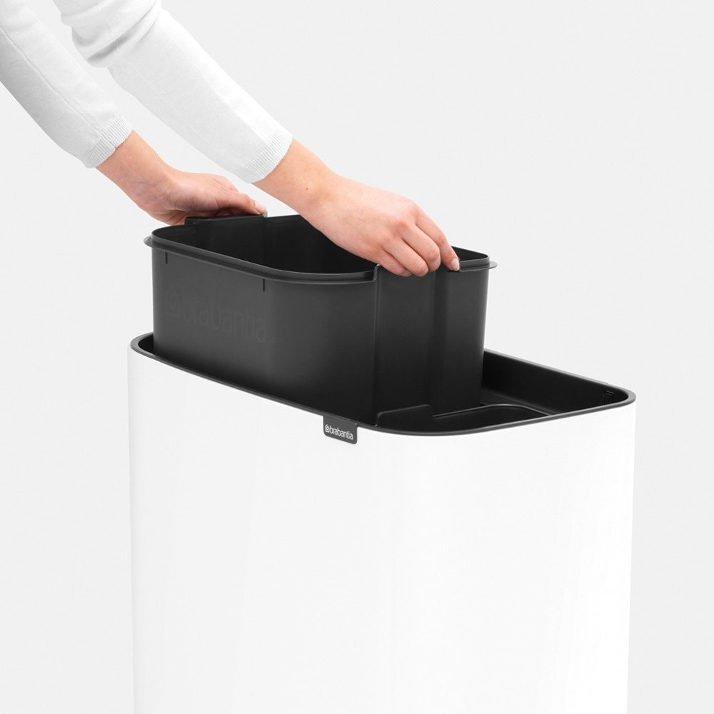 Bin with 2 liners