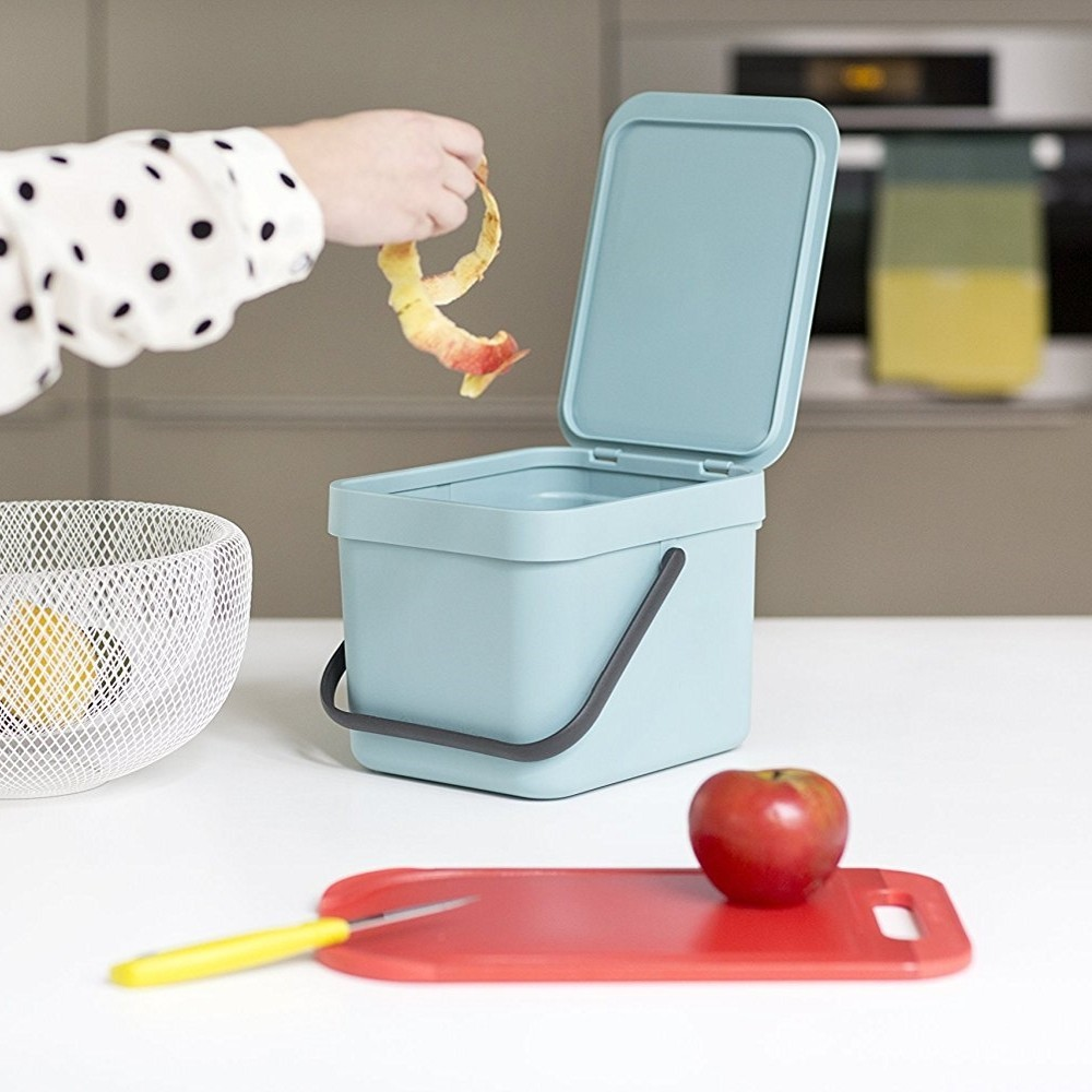 Worktop food waste bin
