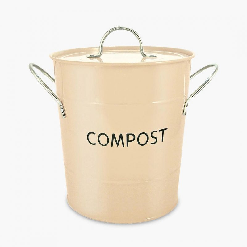 Metal waste composter