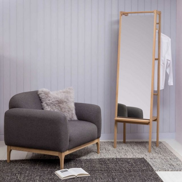 Mirrors with Clothes Stands