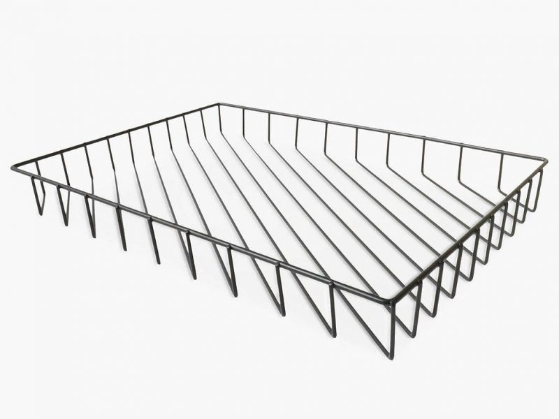 Wire frame letter tray