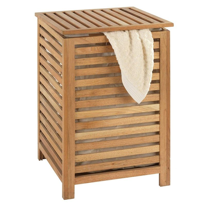 Norway wooden laundry basket