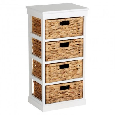 Vertical 4-drawer unit