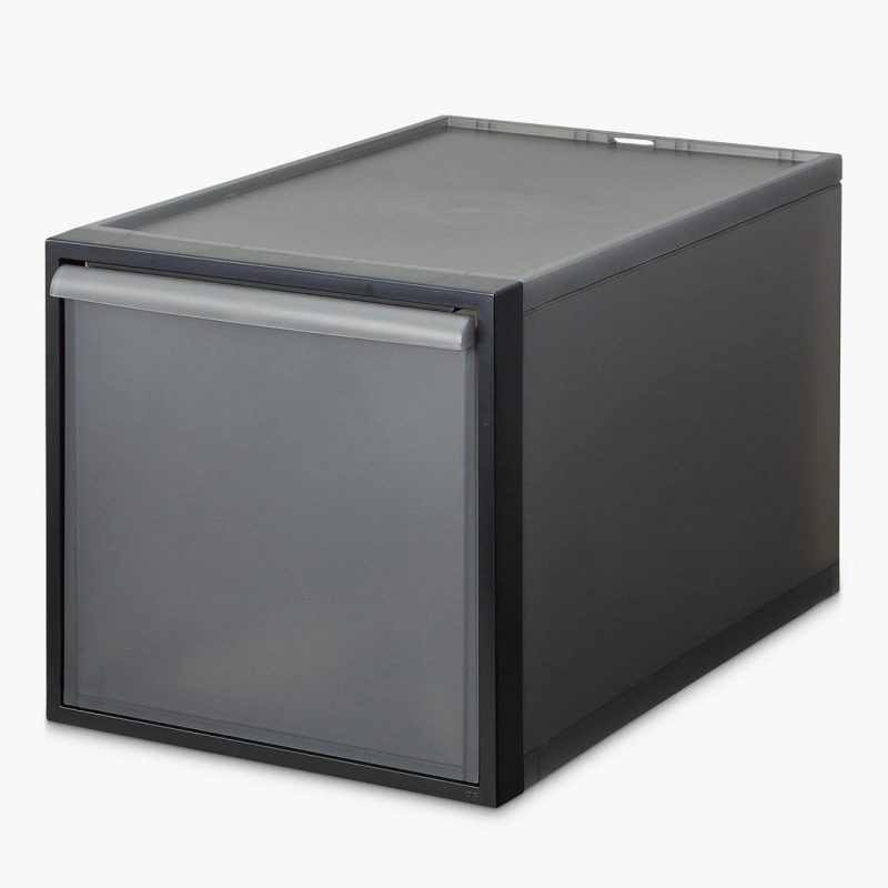Grey 31cm drawer unit