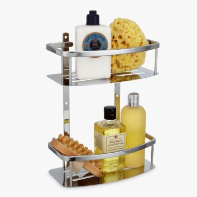 2-tier shower basket