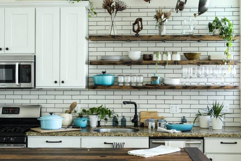 A very organised kitchen