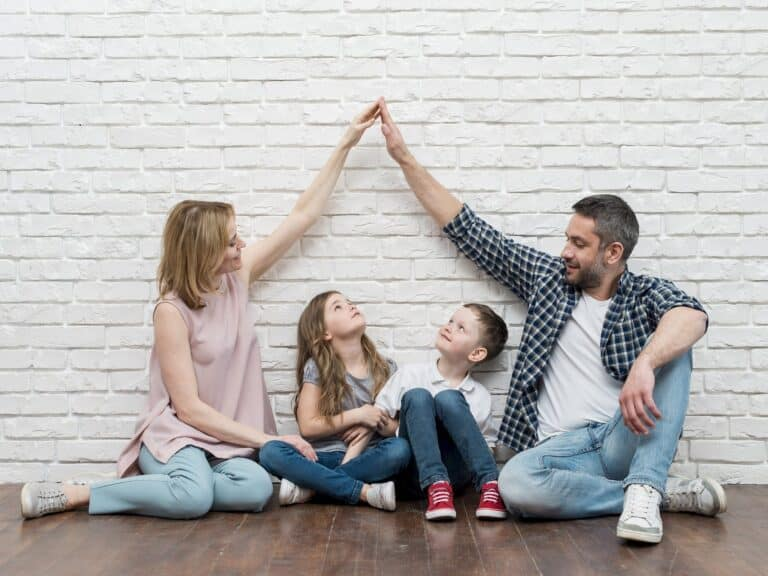 Family together