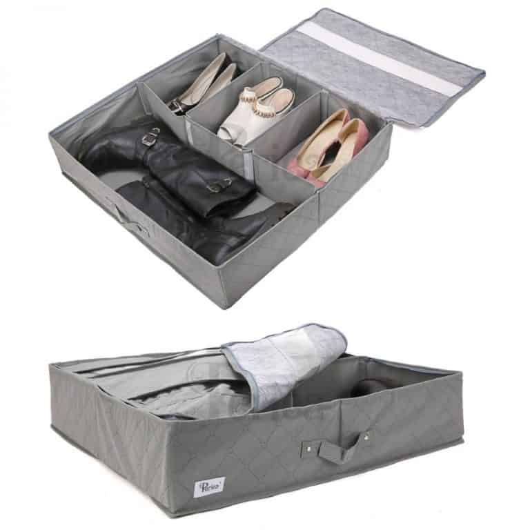 Under the bed shoe storage bags