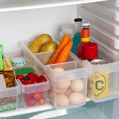 Fridge food organisers