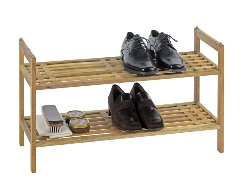 2 tier shoe rack with carry handles