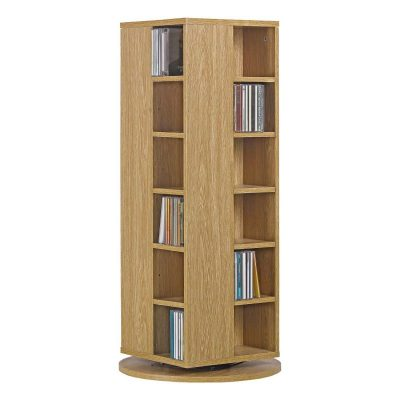 CD/DVD Storage Unit on a Rotating Base
