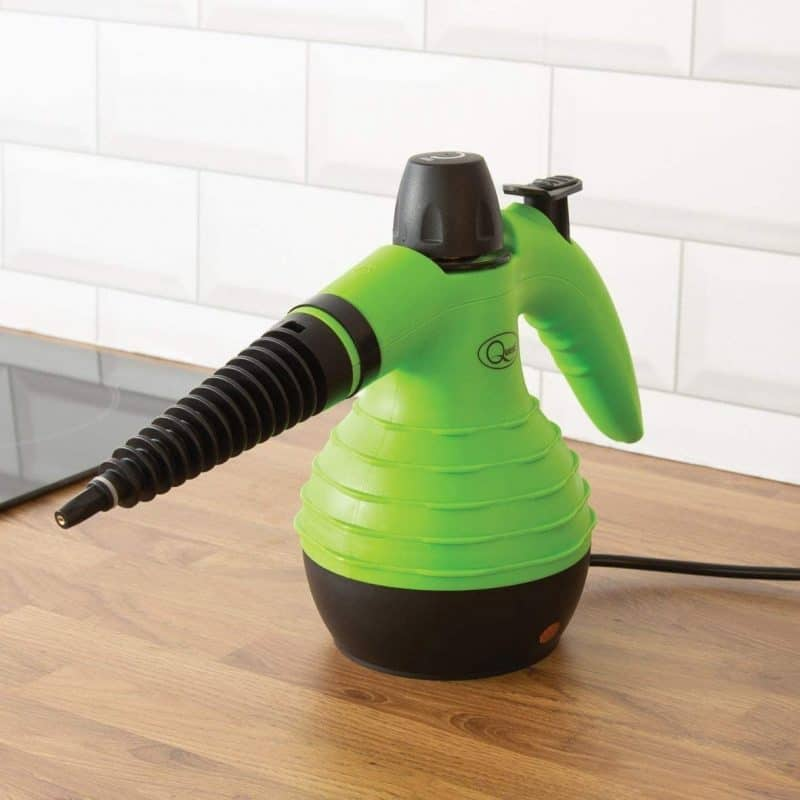 Hand-held steam cleaner
