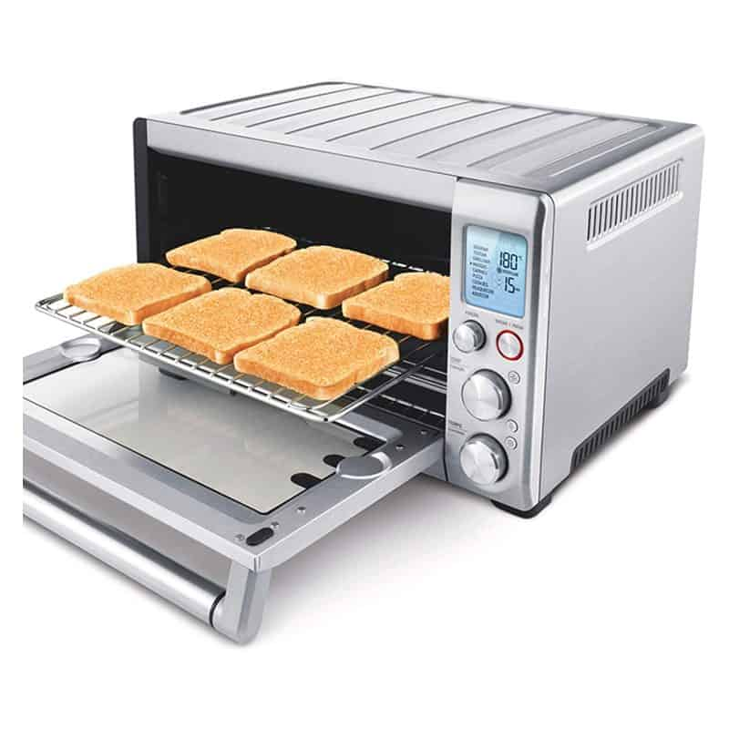 The Smart oven used to make toast
