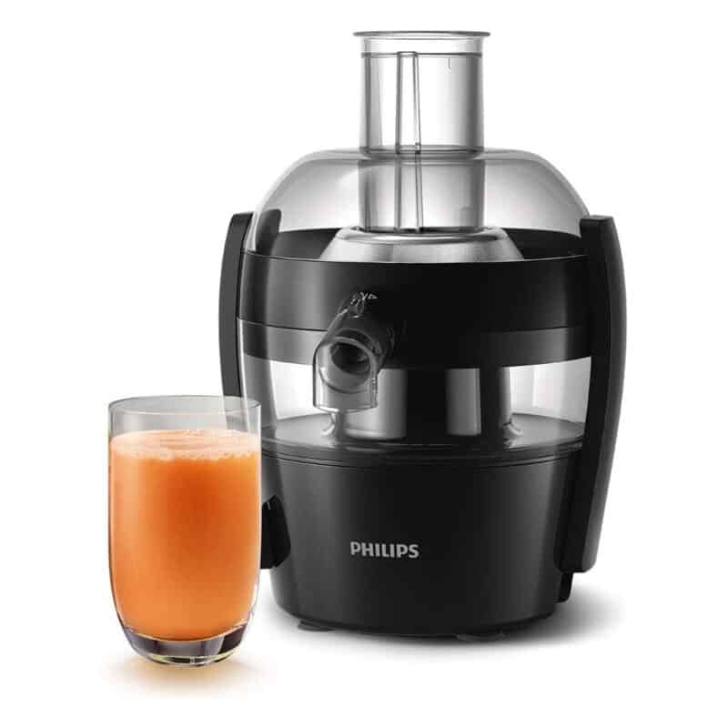 Compact juicer