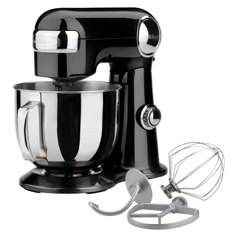 Black food mixer