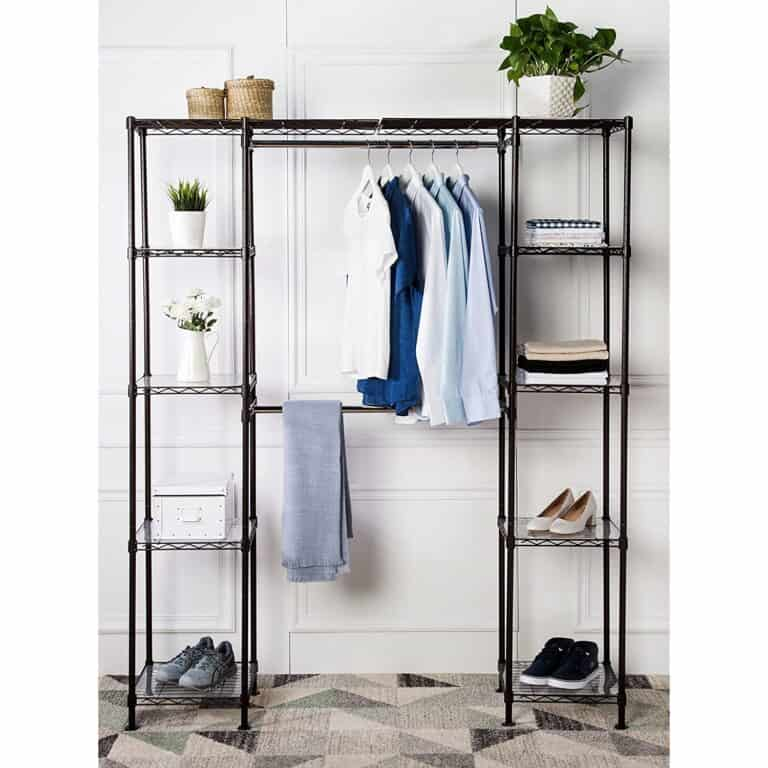 Clothes rack and organiser